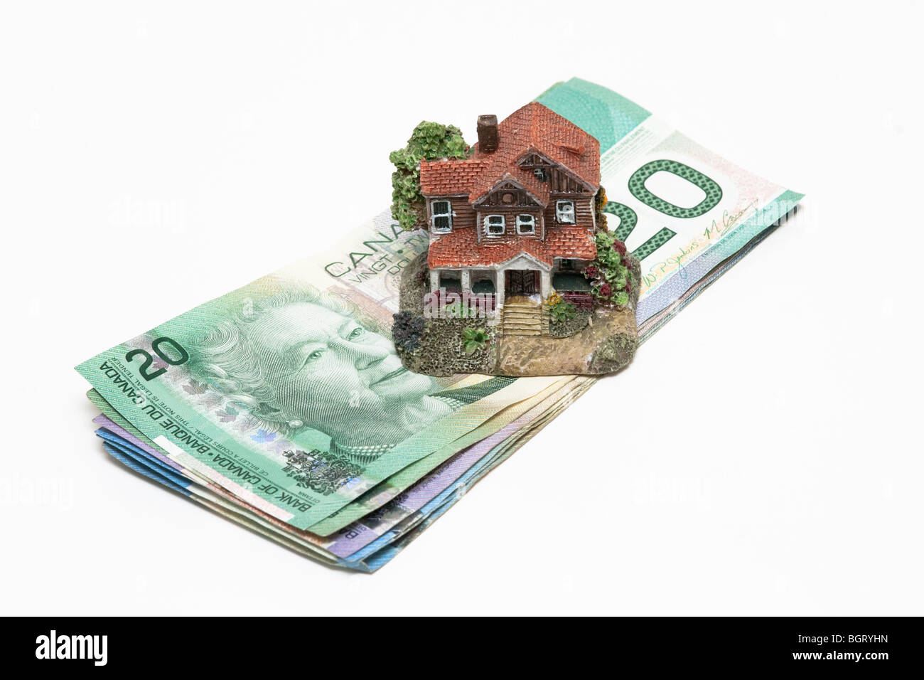 canada,canadian,housing,mortgage,market,debt - Stock Image