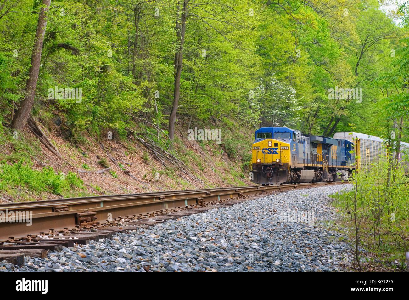 Csx Train Stock Photos & Csx Train Stock Images - Alamy