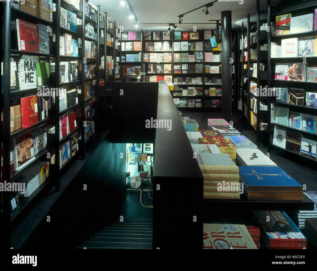 KOENIG BOOK SHOP, LONDON, UNITED KINGDOM, DAVID CHIPPERFIELD - Stock Image