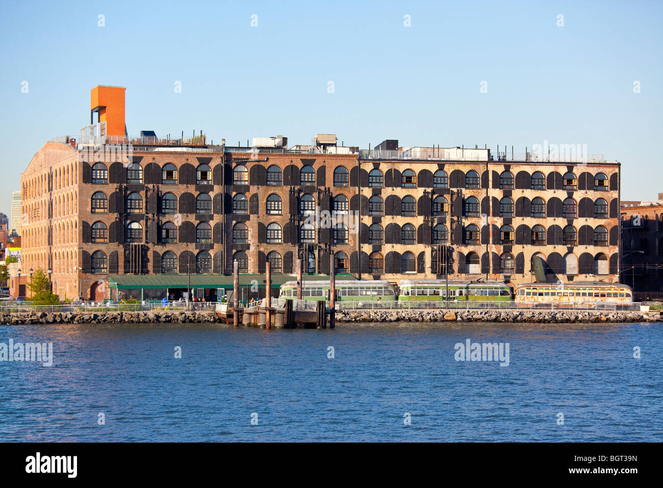 Red Hook Stores Building, now Fairway Market in Red Hook Brooklyn, New York City - Stock Image