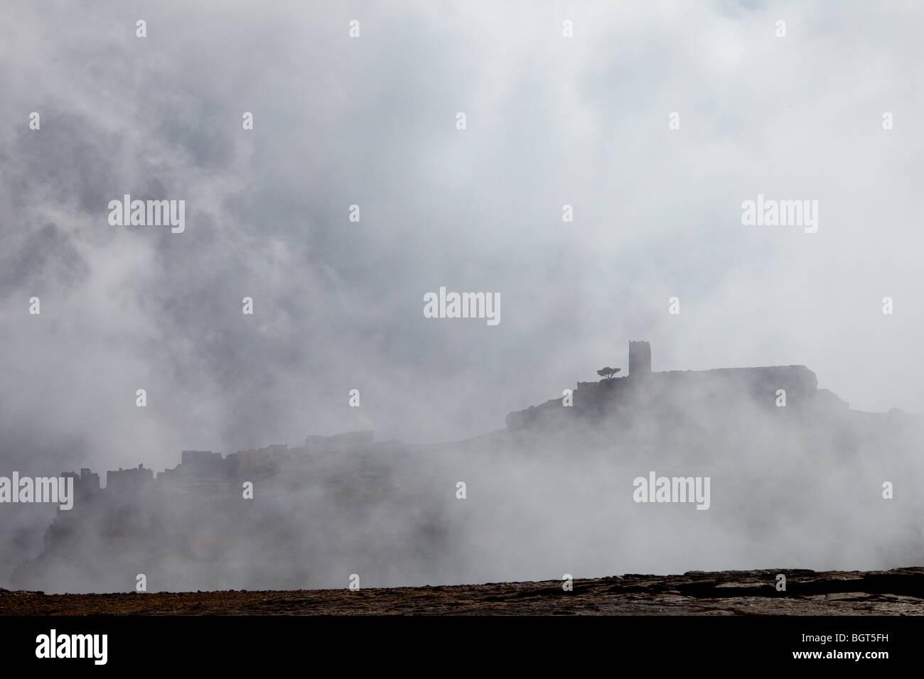 Bokhur Plateau, Yemen - Stock Image