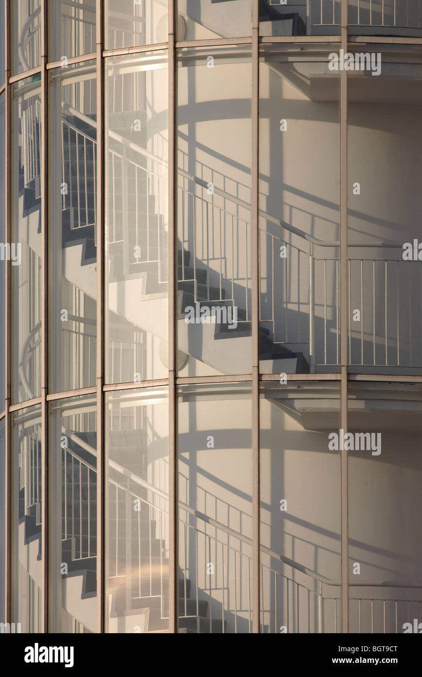 Staircase Tower Elevation : Homebuilder stock photos images alamy