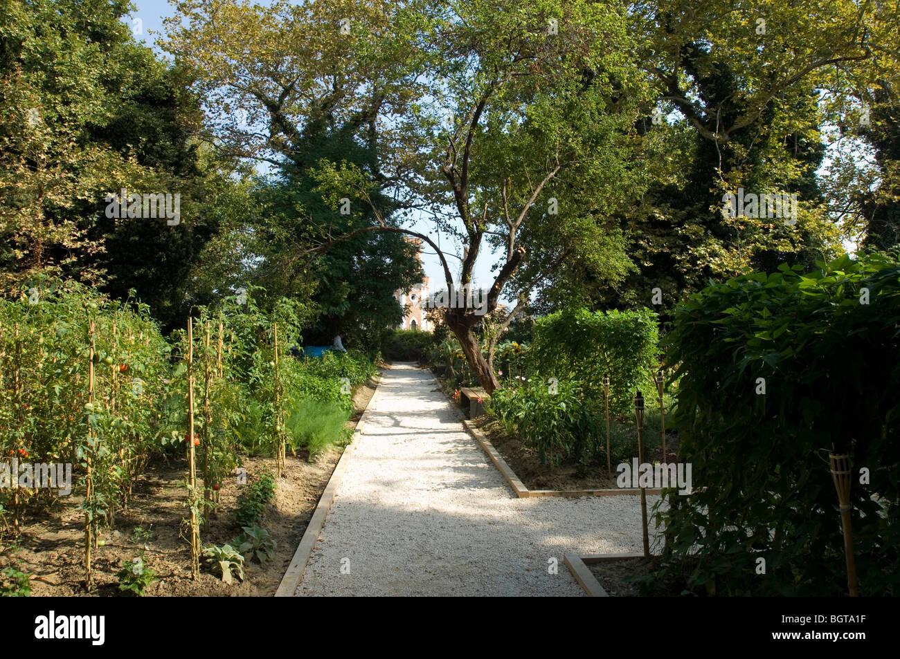 paradise gardens, arsenale, venice biennale 2008. enrichment space - Stock Image