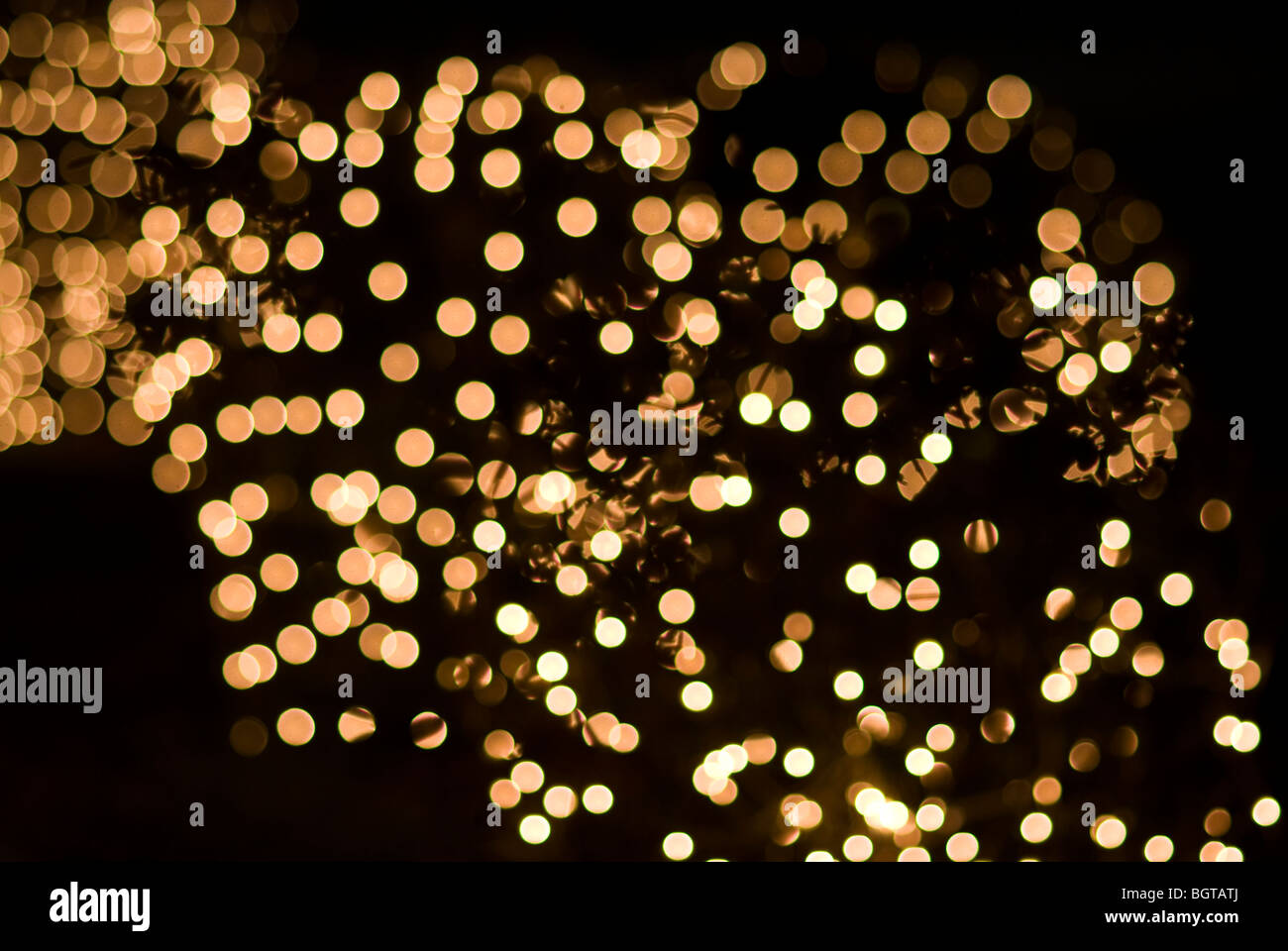 holiaday lights Effects Sparkling  Backgrounds - Stock Image