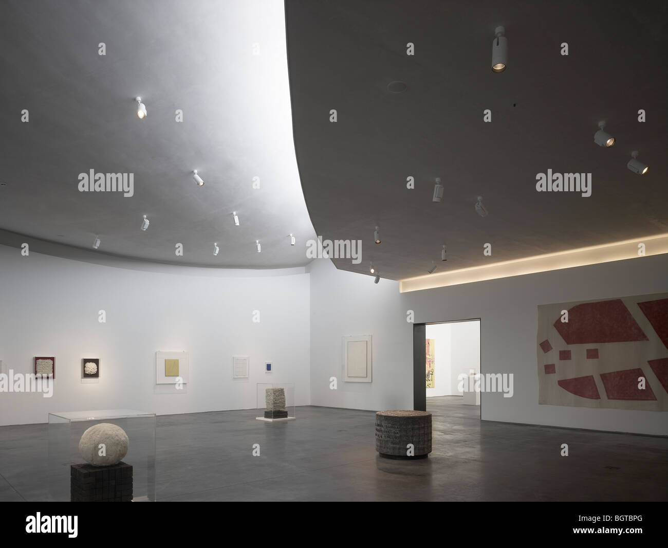 herning art center, denmark - main gallery space Stock Photo