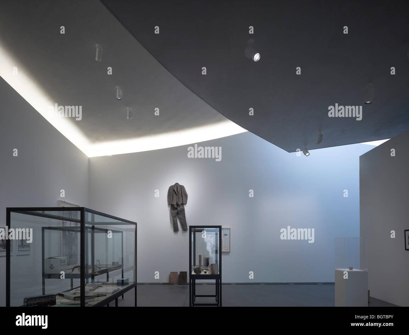 herning art center, denmark - main gallery space Stock Photo