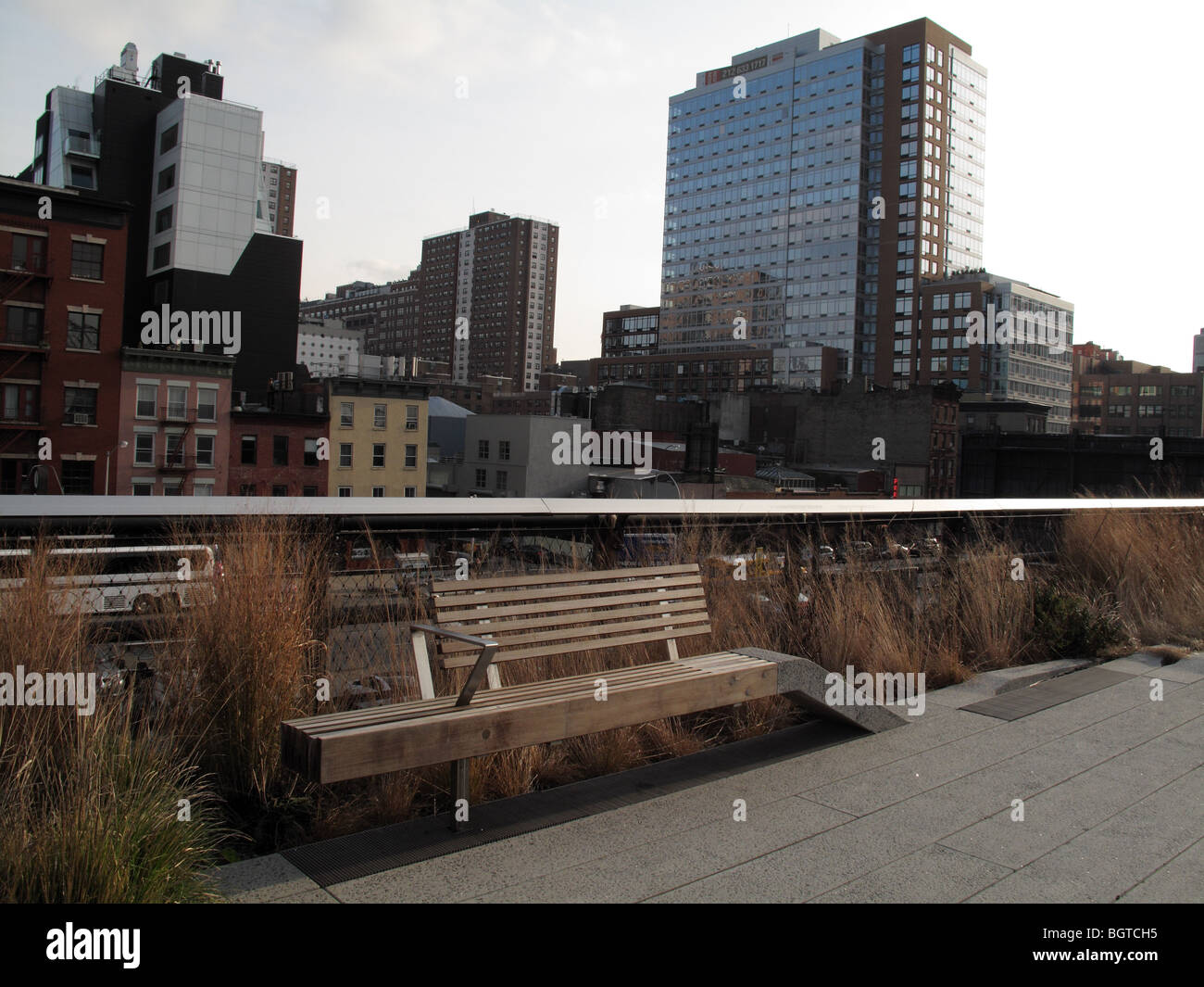 The High Line Park - Stock Image