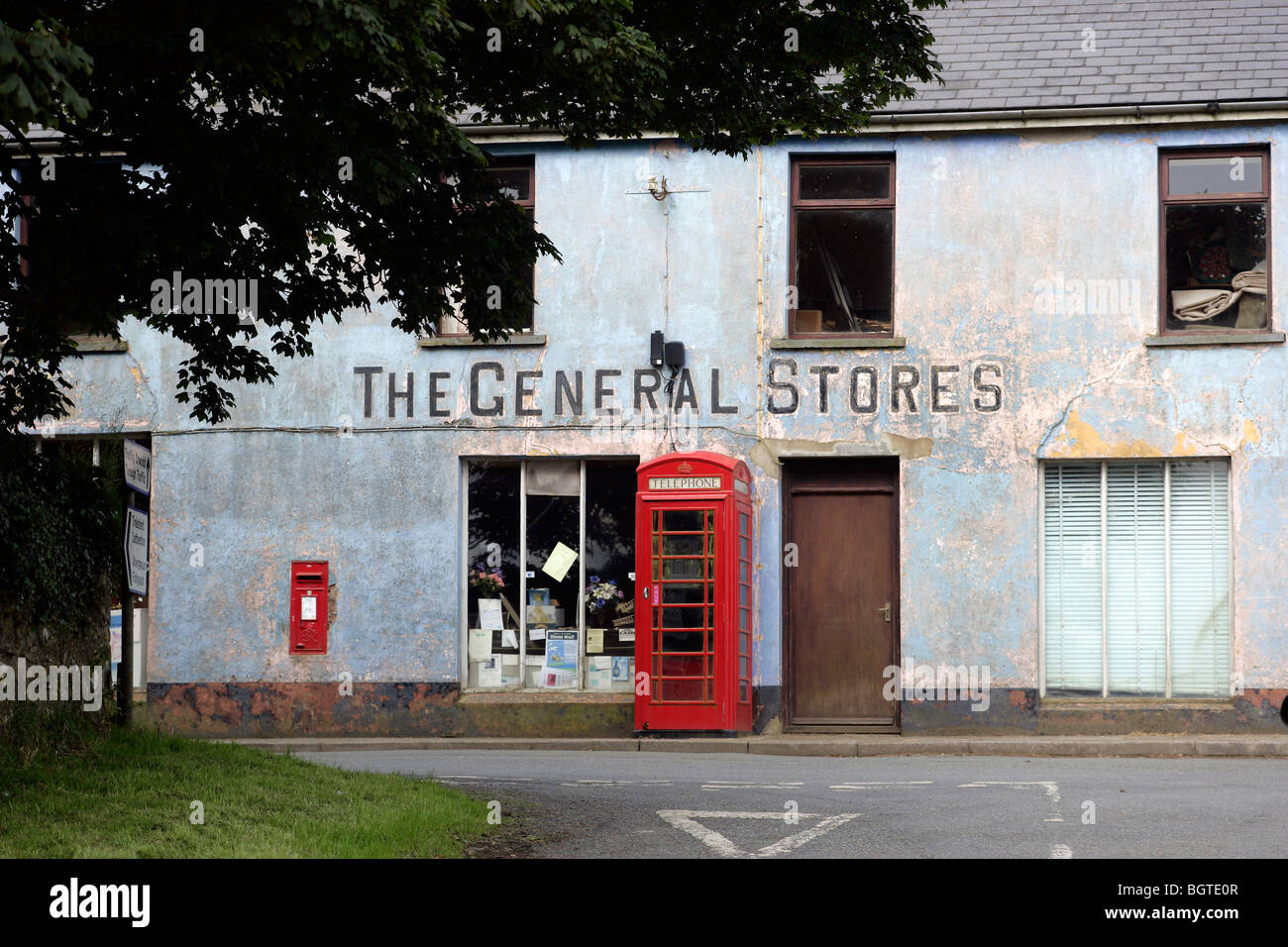 General Stores, Mathry, Pembrokeshire  Old fashioned Red