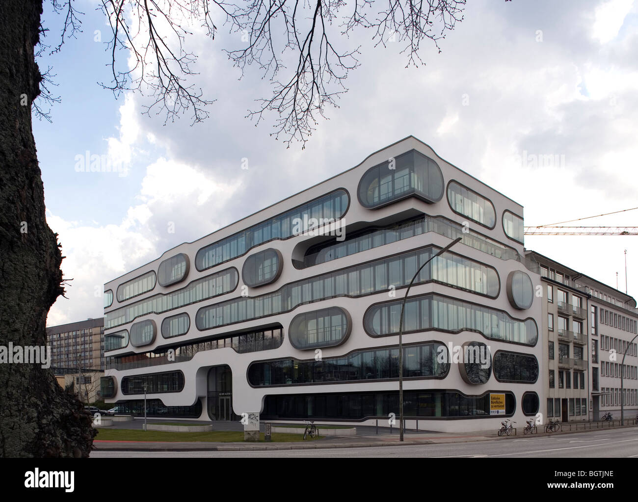 an der alster 1 offices hamburg germany j mayer h stock photo 27586426 alamy. Black Bedroom Furniture Sets. Home Design Ideas