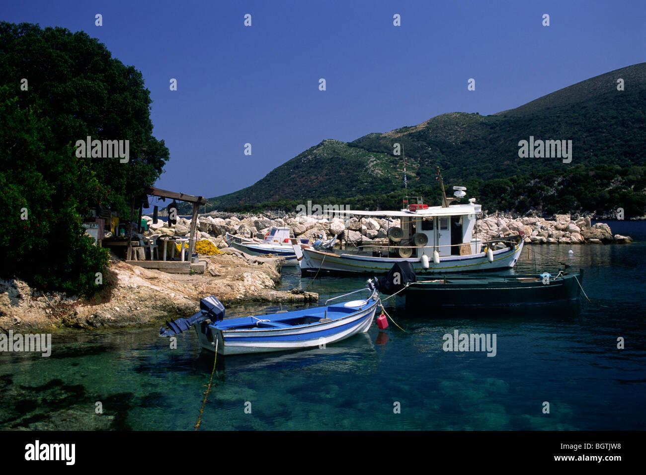 greece, ionian islands, kefalonia, atheras - Stock Image