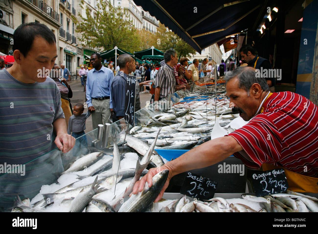 Marche des Capucins, Marseille, Provence, France. - Stock Image
