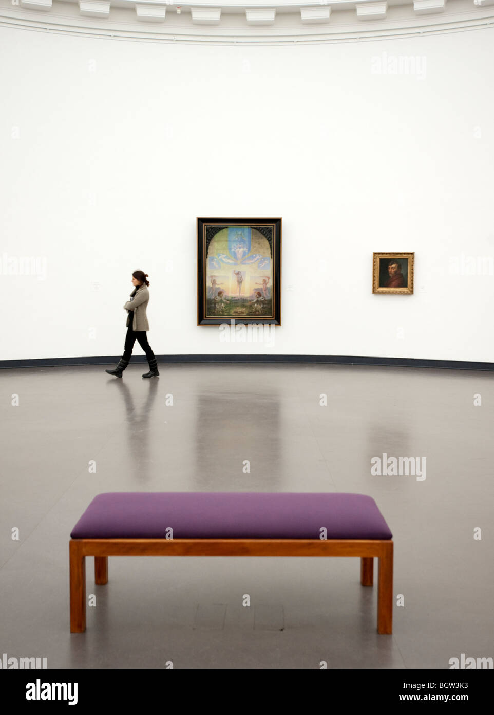 The Kunsthalle art gallery in Hamburg Germany - Stock Image