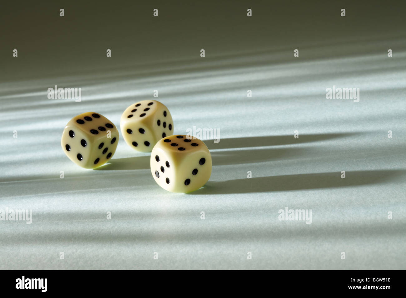 Rolling the Dice - Stock Image