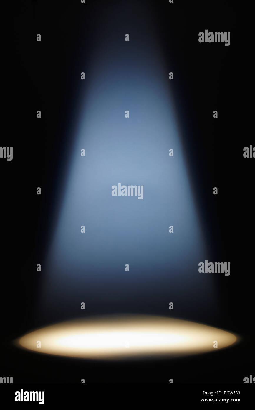 Beam of Light - Stock Image