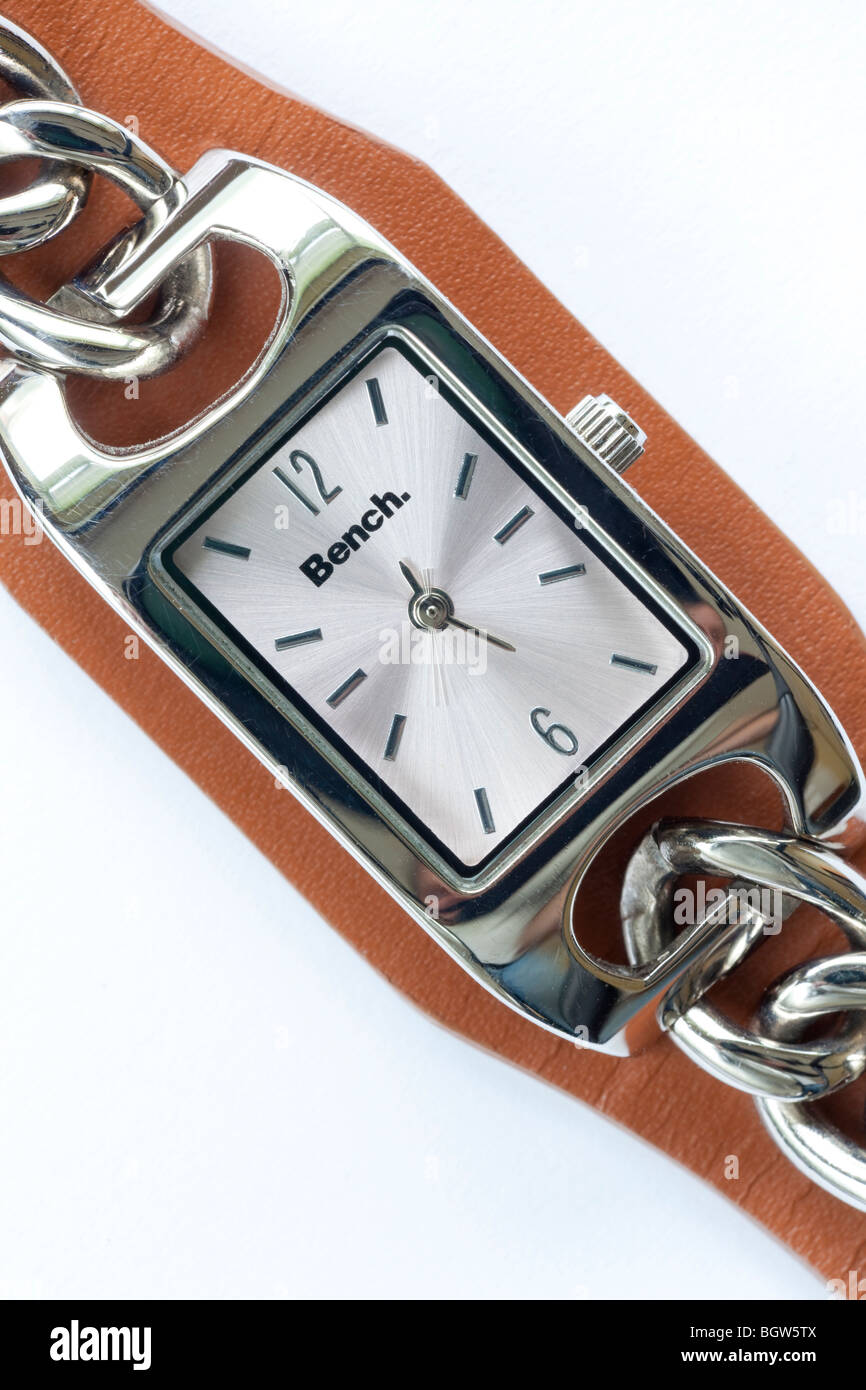 ladies style wristwatch by Bench - Stock Image
