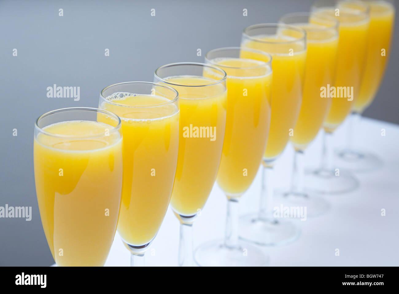 bucks fizz drink - Stock Image