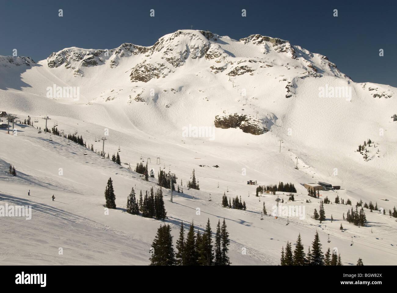 Whistler Mountain; Whistler; British Columbia; Canada - Stock Image