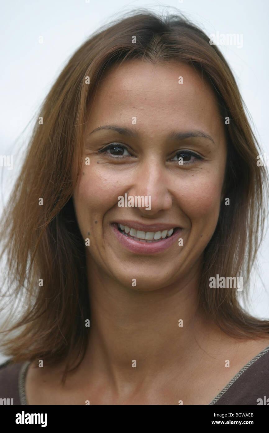 Monica Ali, novelist, writer, author, commentator, at Edinburgh International Book Festival 2003, Scotland. - Stock Image