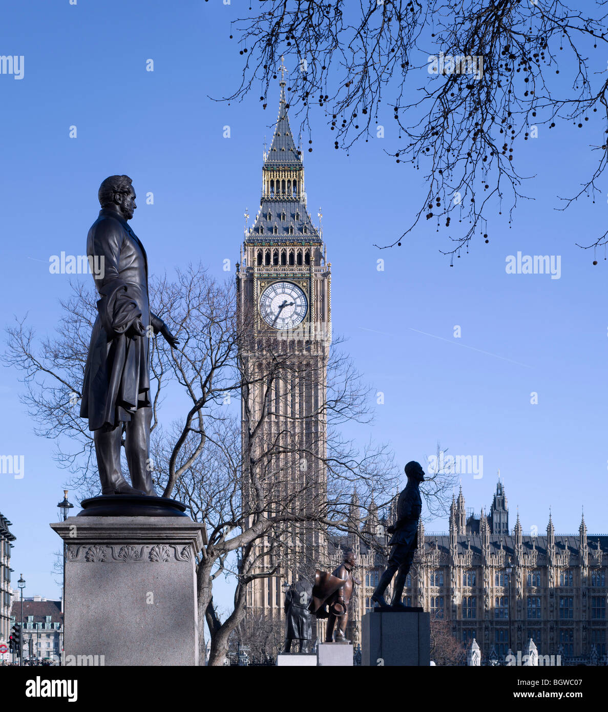THE STATUES OF LONDON, LONDON, UNITED KINGDOM, UNKNOWN - Stock Image