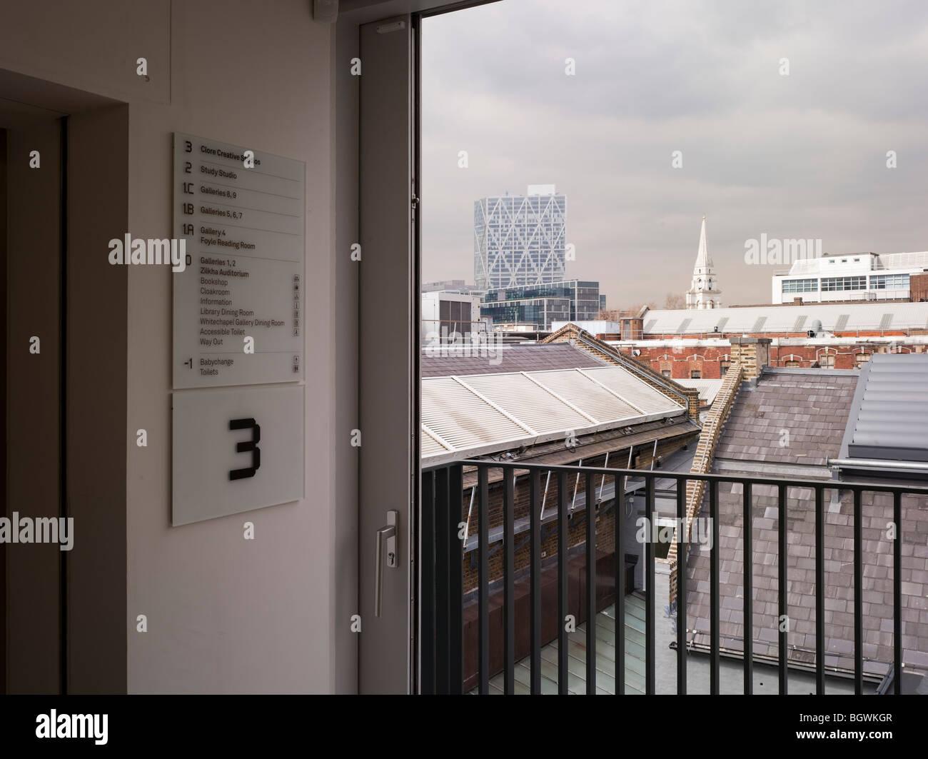 WHITECHAPEL ART GALLERY, LONDON, UNITED KINGDOM, WITHERFORD WATSON MANN / ROBBRECHT & DAEM Stock Photo