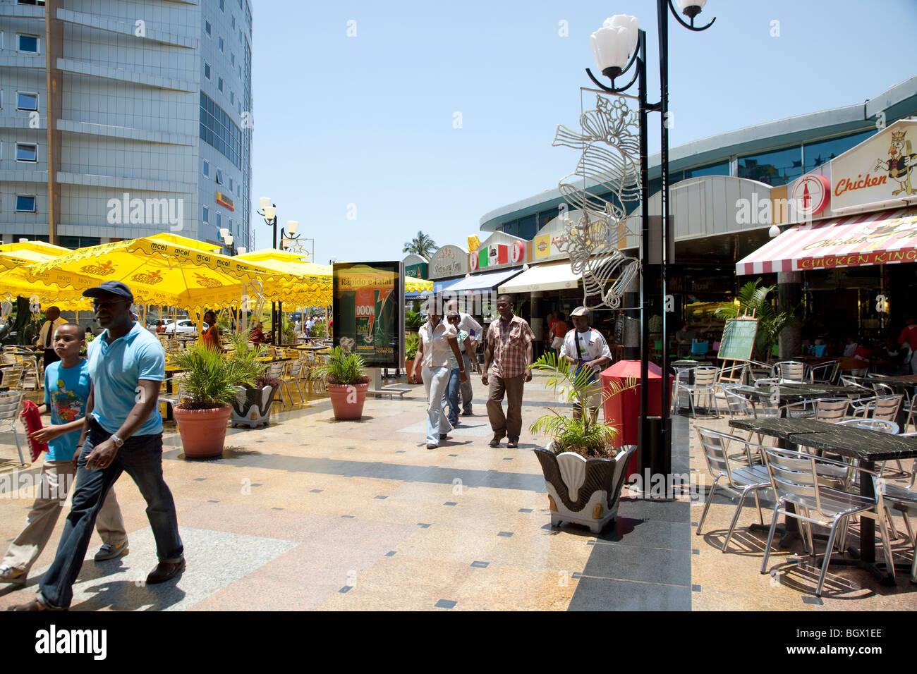 Maputo Shopping Center, Mozambique Stock Photo