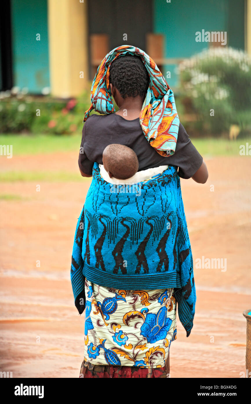 Kisoro, Uganda, East Africa - Stock Image