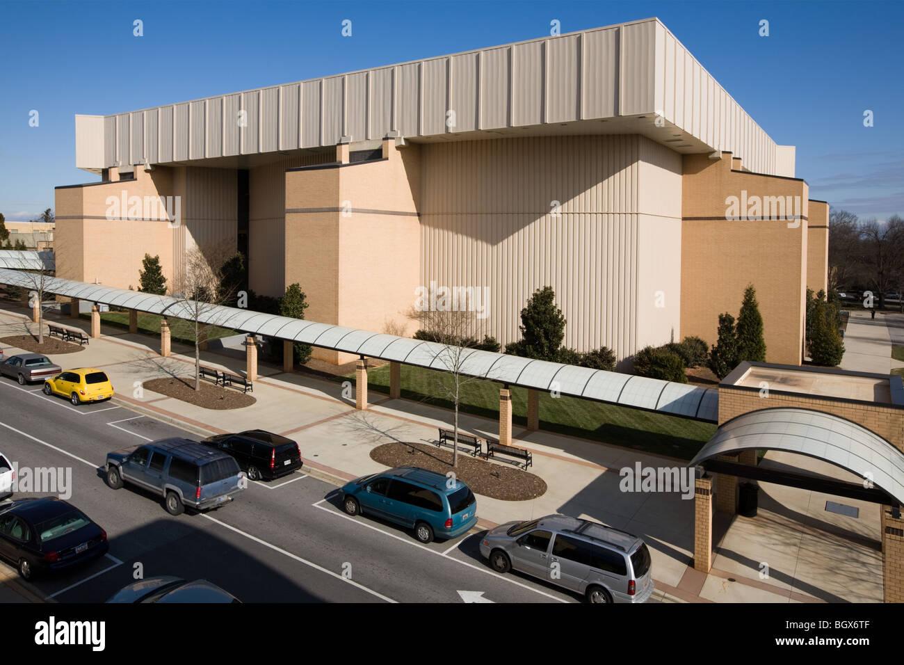 Bob Jones University, Greenville, South Carolina Stock Photo