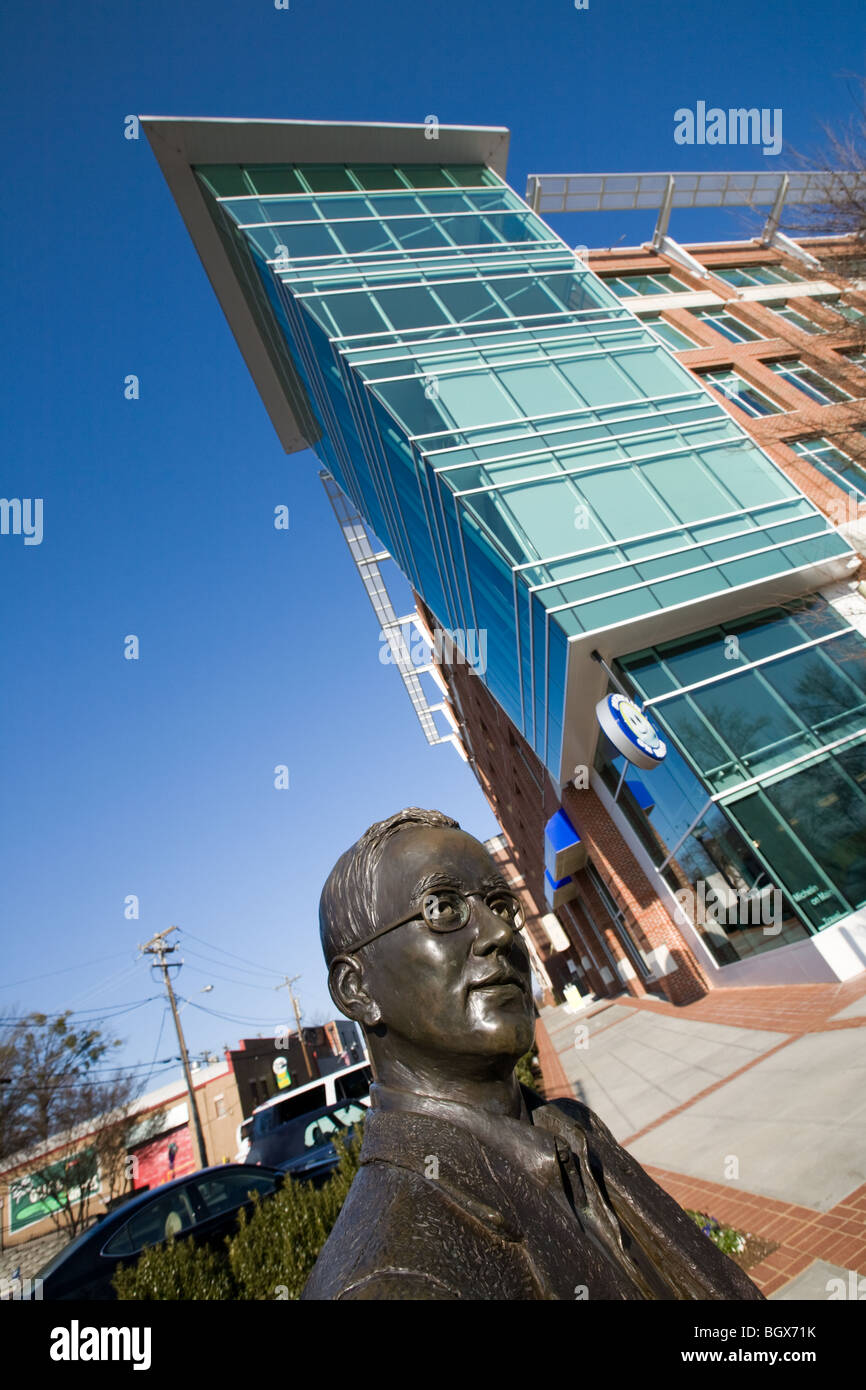 Charles Hard Townes, Nobel Laureate in physics, native of Greenville, South Carolina - Stock Image