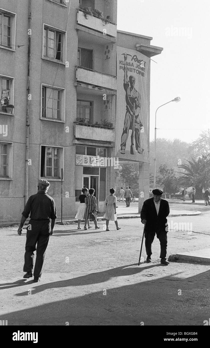 FIER, ALBANIA, SEP' 91 - Stock Image