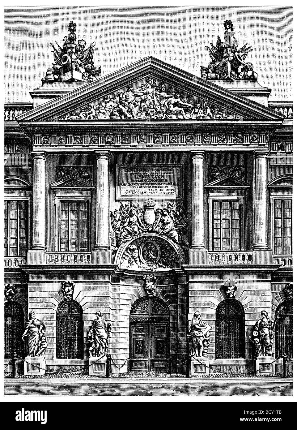 former Zeughaus, armoury in Berlin - Stock Image