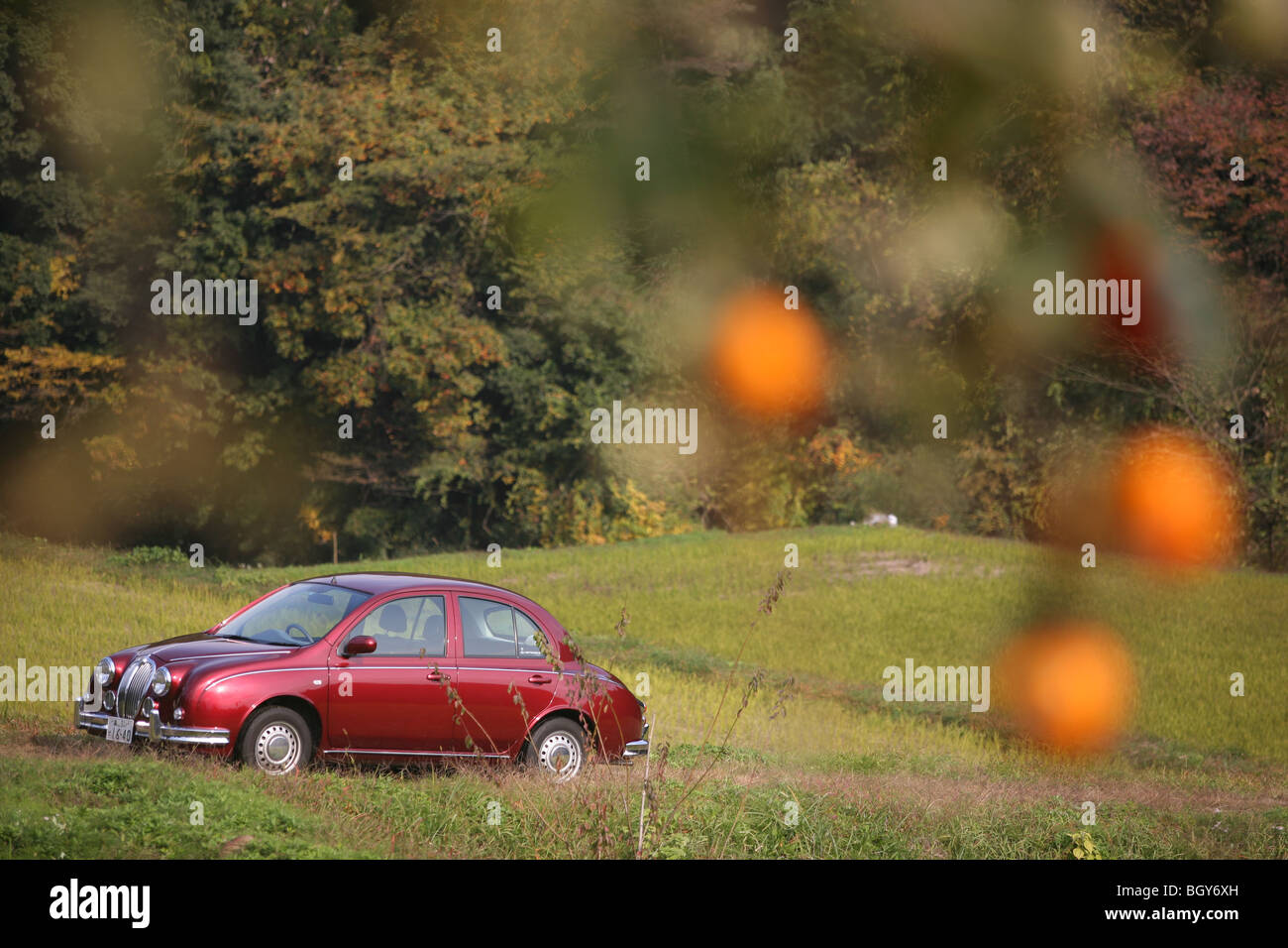 Cars Parked At Manufacturers Stock Photos & Cars Parked At ...