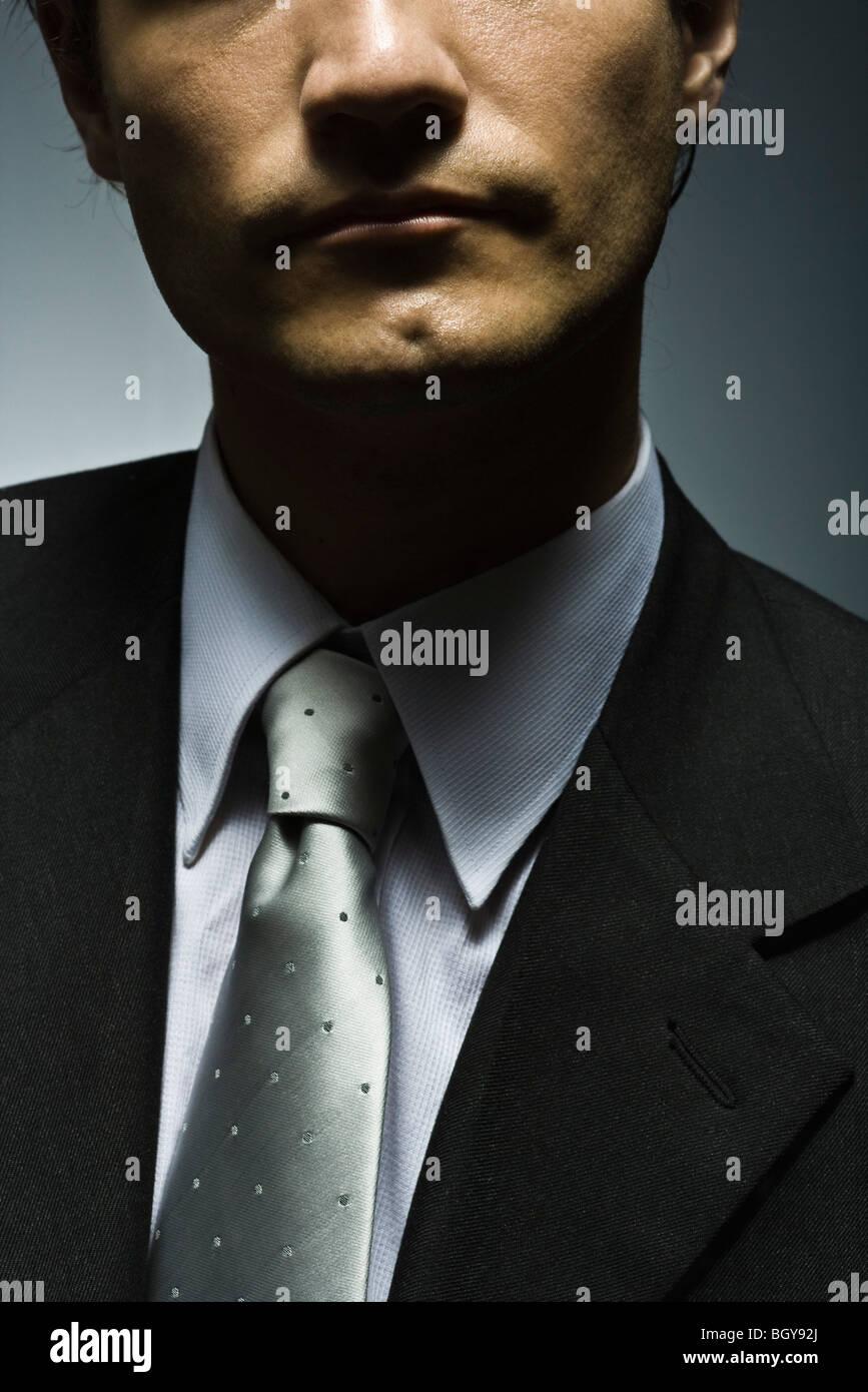 Businessman, portrait - Stock Image