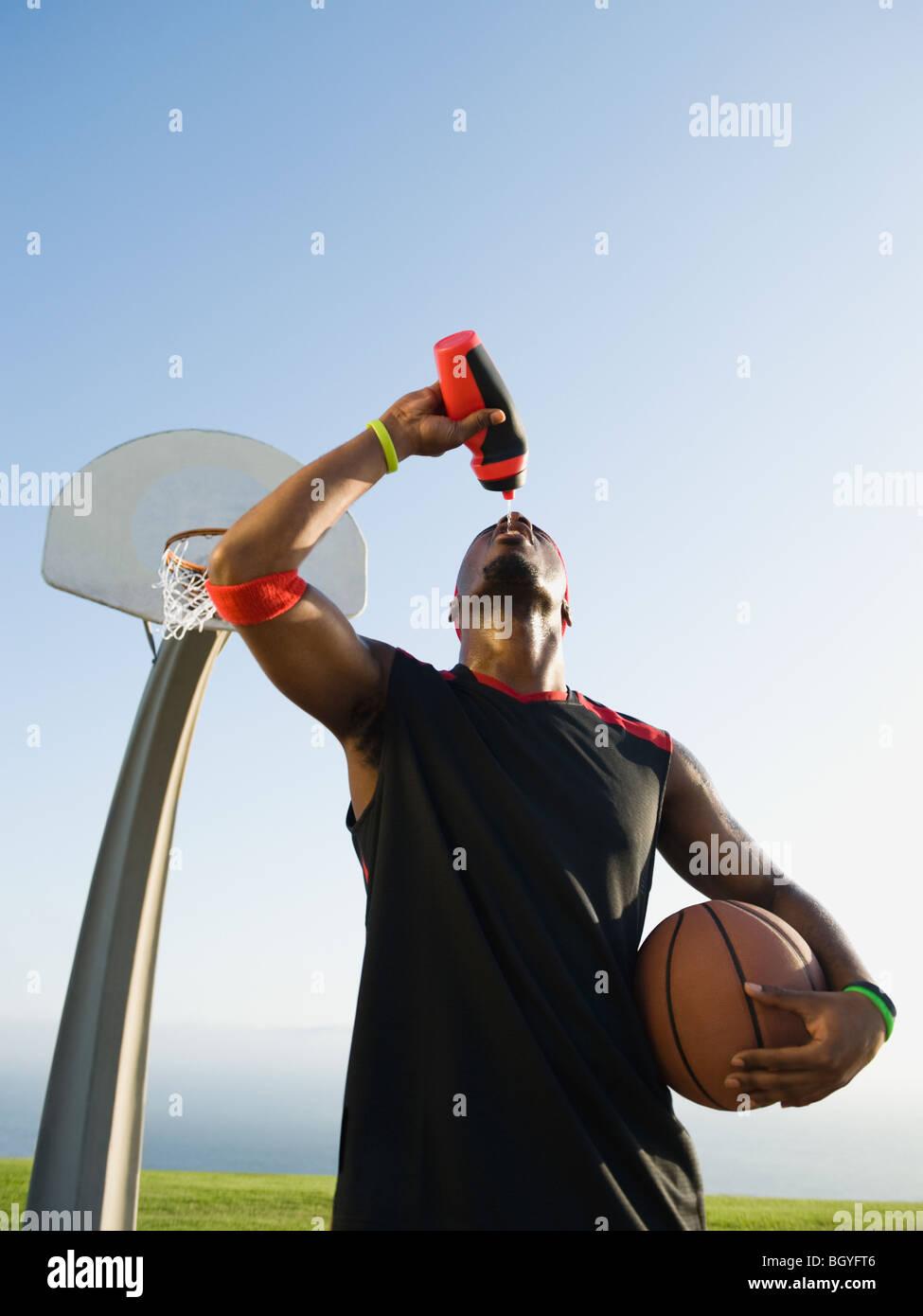 Basketball player - Stock Image
