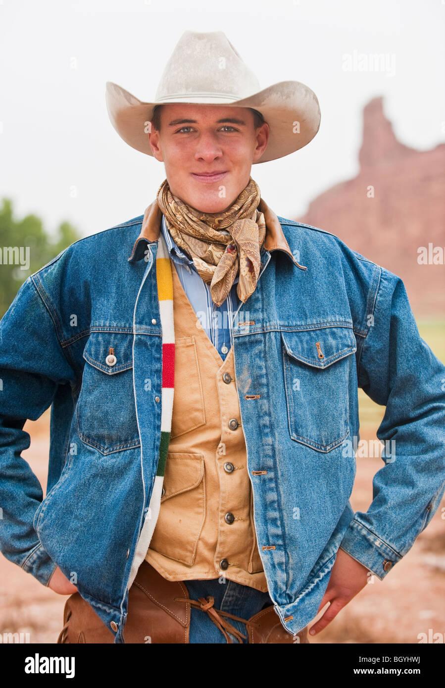 Cowboy - Stock Image