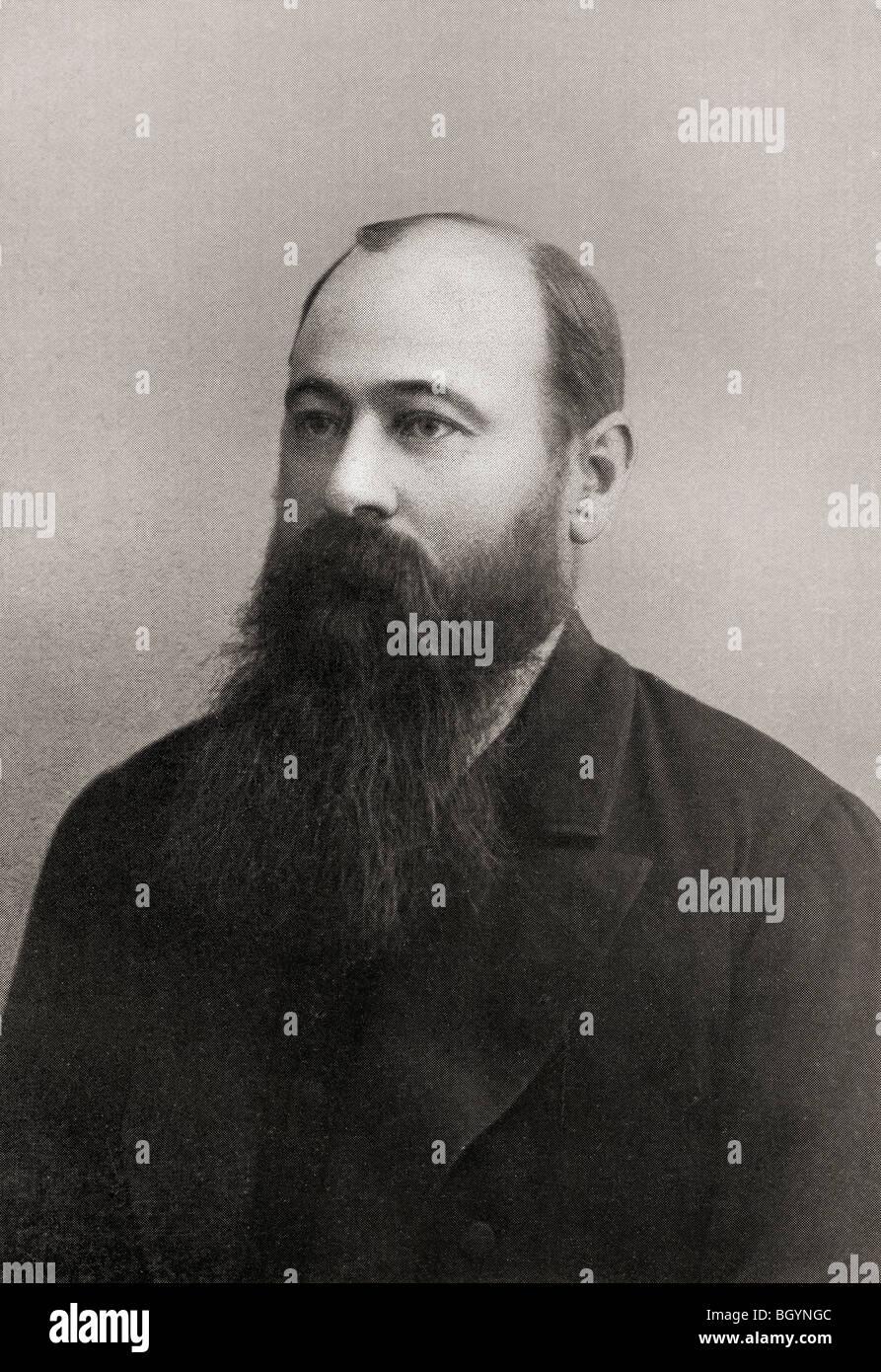 Martinus or Marthinus Theunis Steyn 1857 to 1916. South African lawyer, politician, statesman, president of  Orange Stock Photo