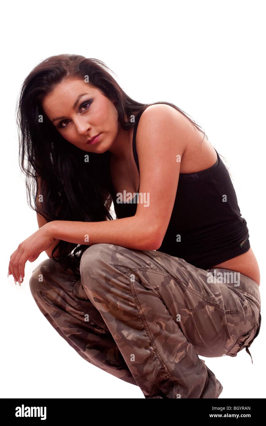 woman urban dancer - Stock Image