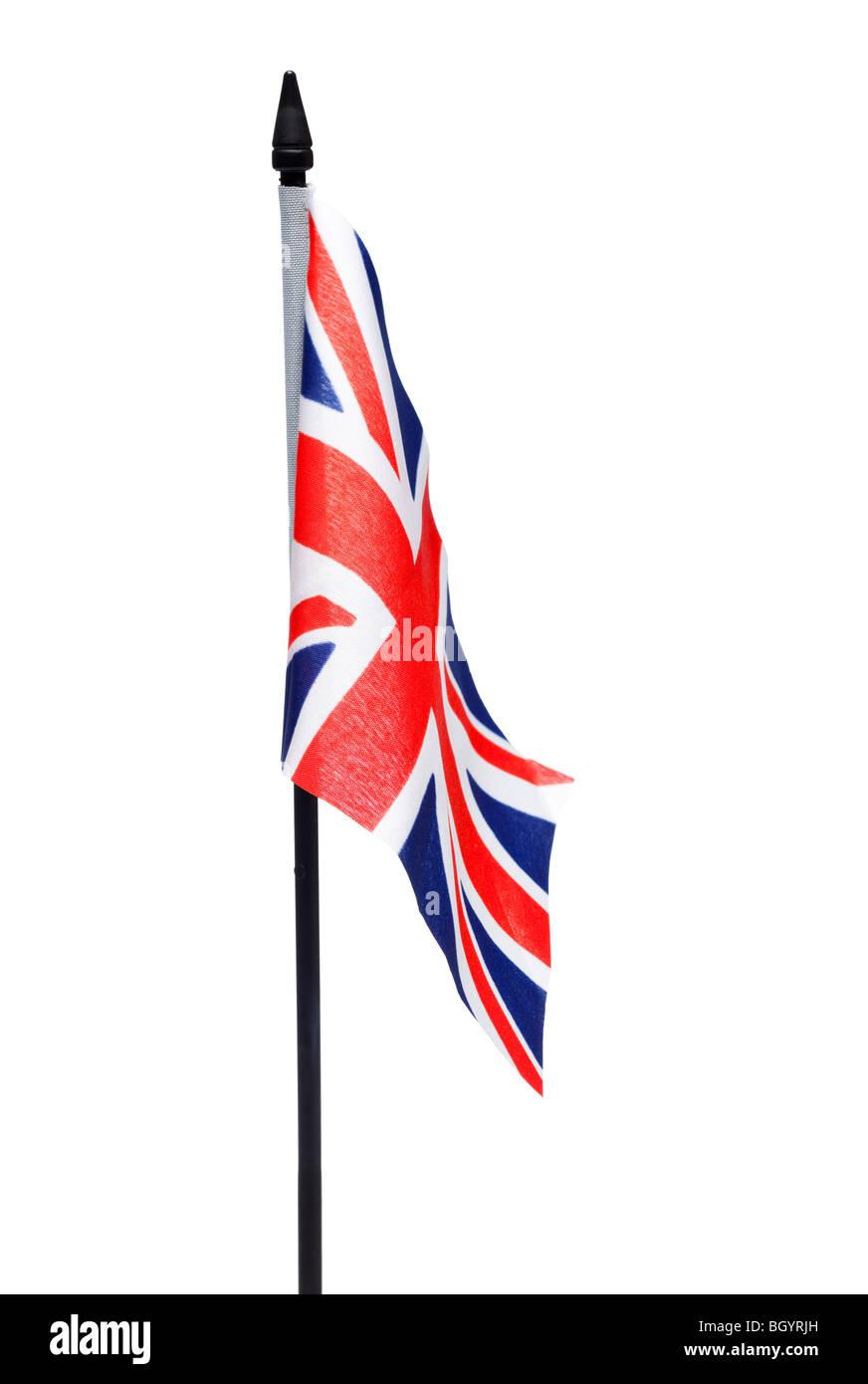 British flag, Union Jack, flag of the United Kingdom - Stock Image