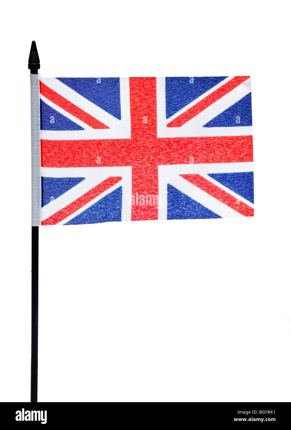 Union Jack flag of the United Kingdom of Great Britain and Northern Ireland - Stock Image