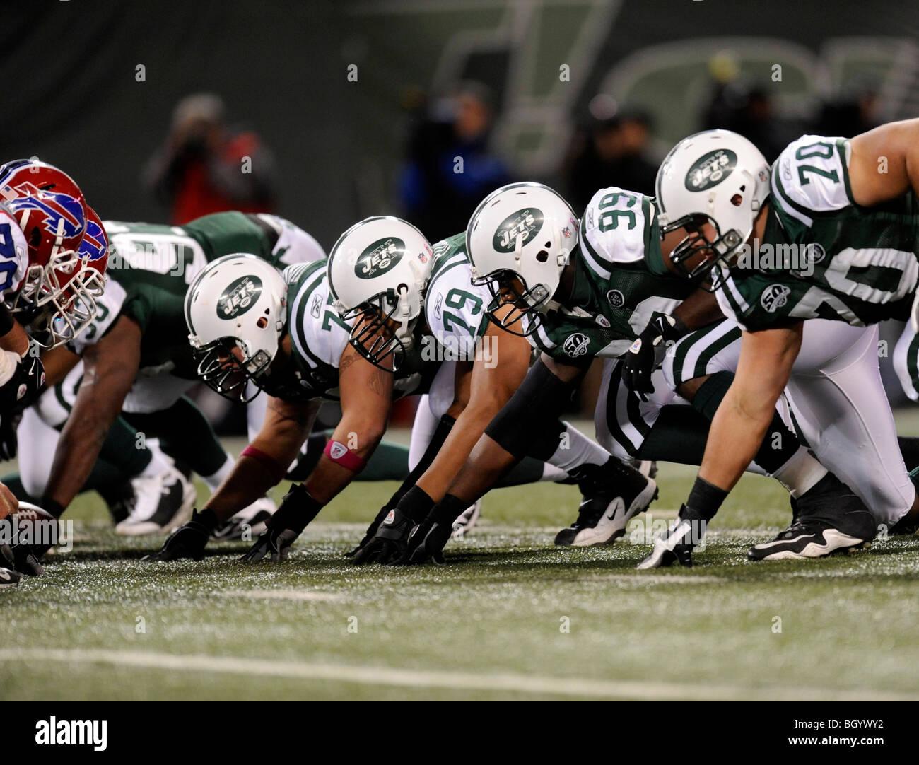 American Football Defensive Line High Resolution Stock Photography