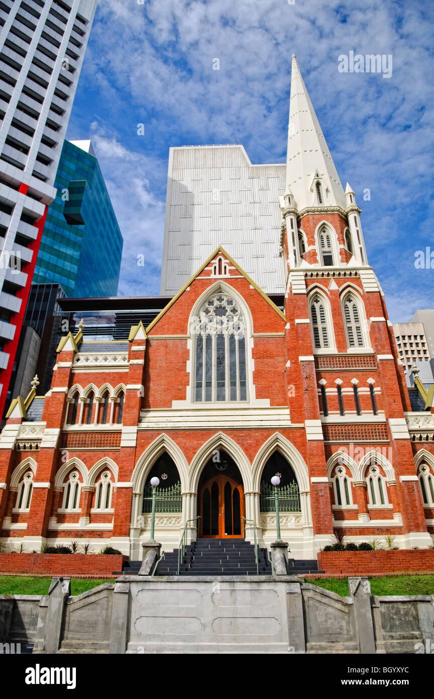 BRISBANE, Australia - Albert Street Uniting Church on Albert Street, Brisbane - Stock Image