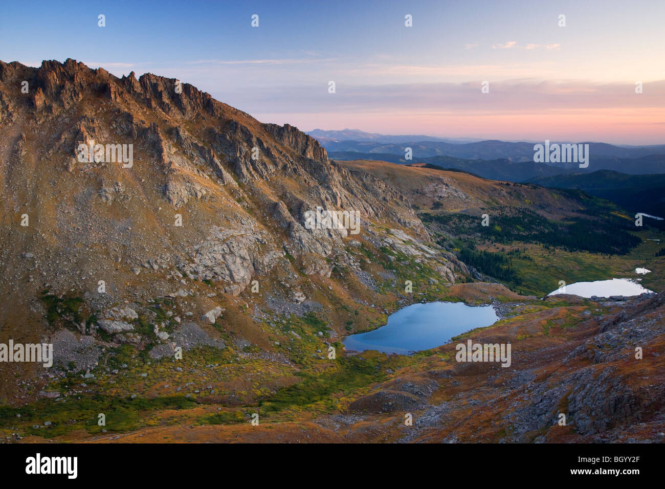 Mount Evans Recreation Area, Arapaho National Forest, Colorado. - Stock Image