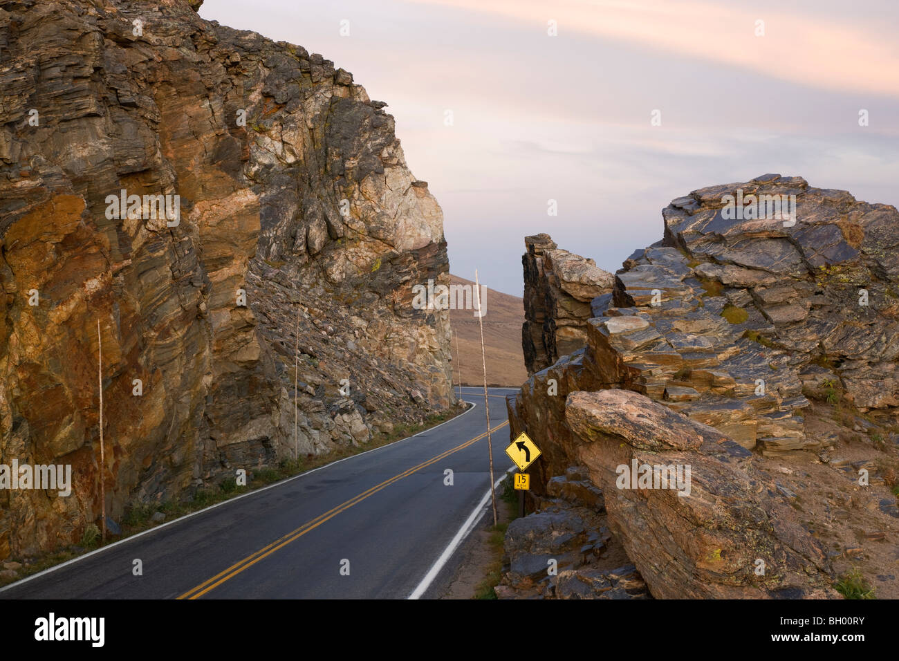 the land of colorado topography with Stock Photo Rock Cut Along Trail Ridge Road Rocky Mountain National Park Colorado 27660191 on Oklahoma moreover Soil Layers likewise Arizona also Kansas map also 3b.