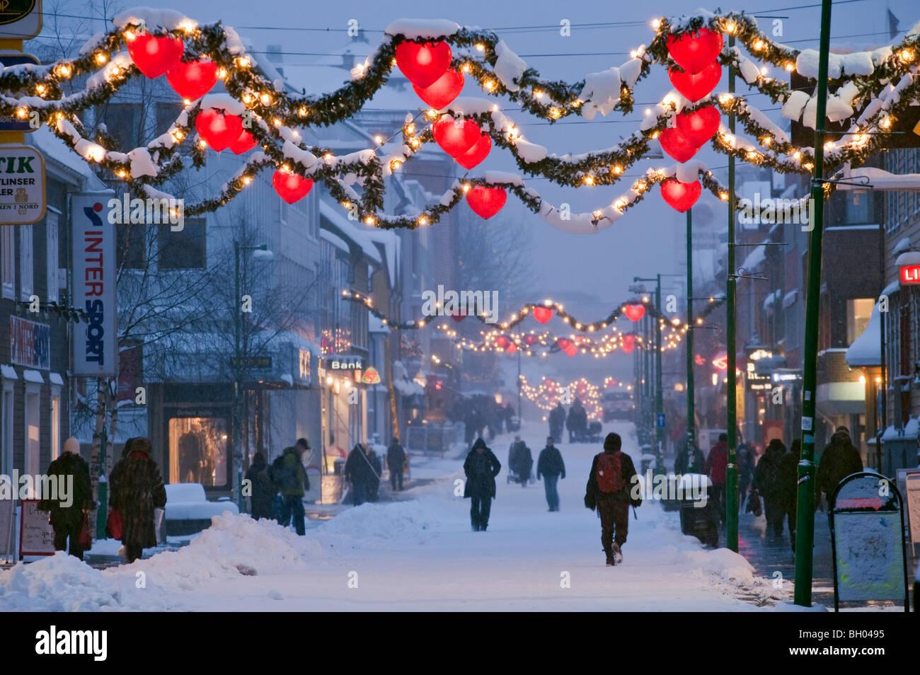 Tromso Norway Christmas Stock Photos & Tromso Norway Christmas Stock ...
