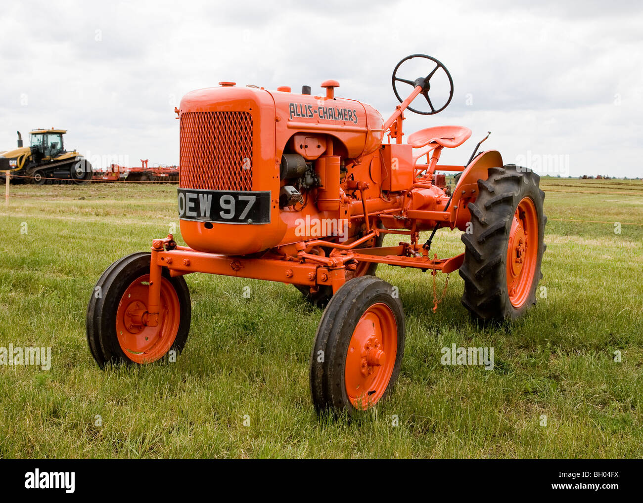 1955 Allis Chalmers Model B Stock Image