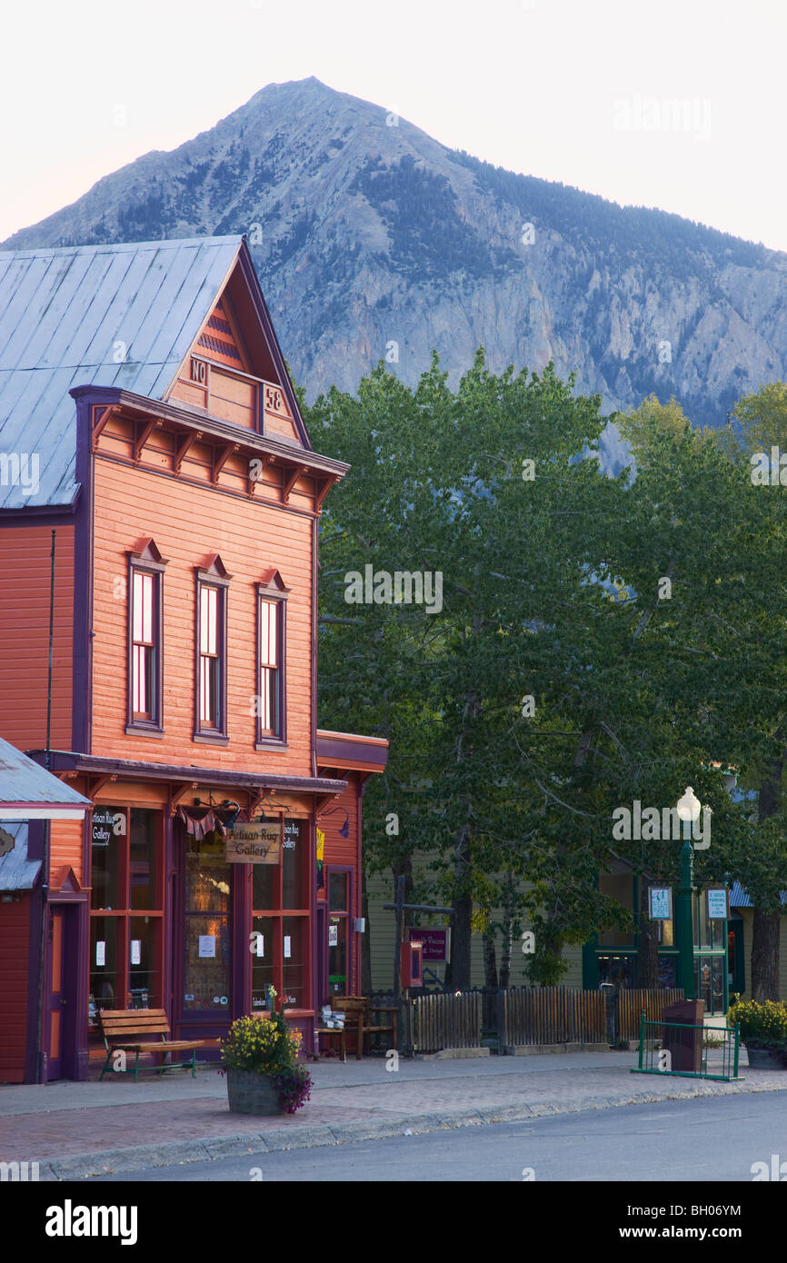 Crested Butte, Colorado. - Stock Image