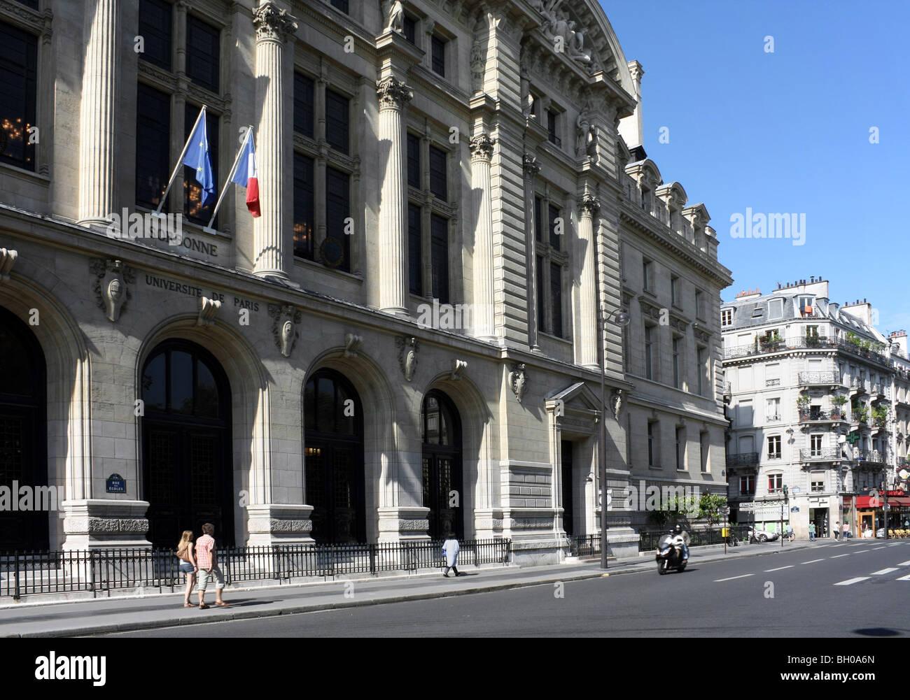 Sorbonne, University of Paris - Stock Image