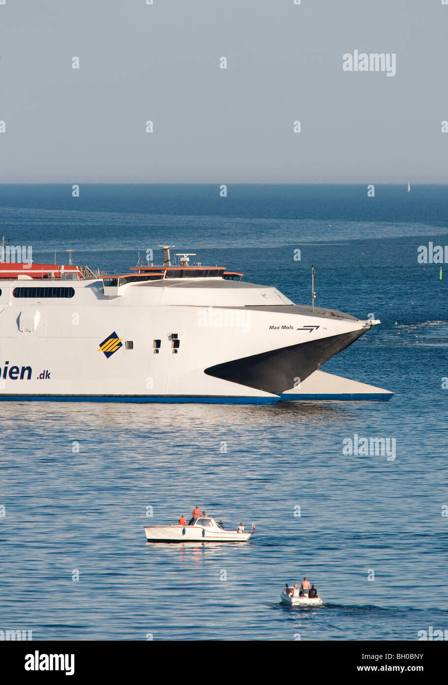 A Mols-Linien ferry. - Stock Image