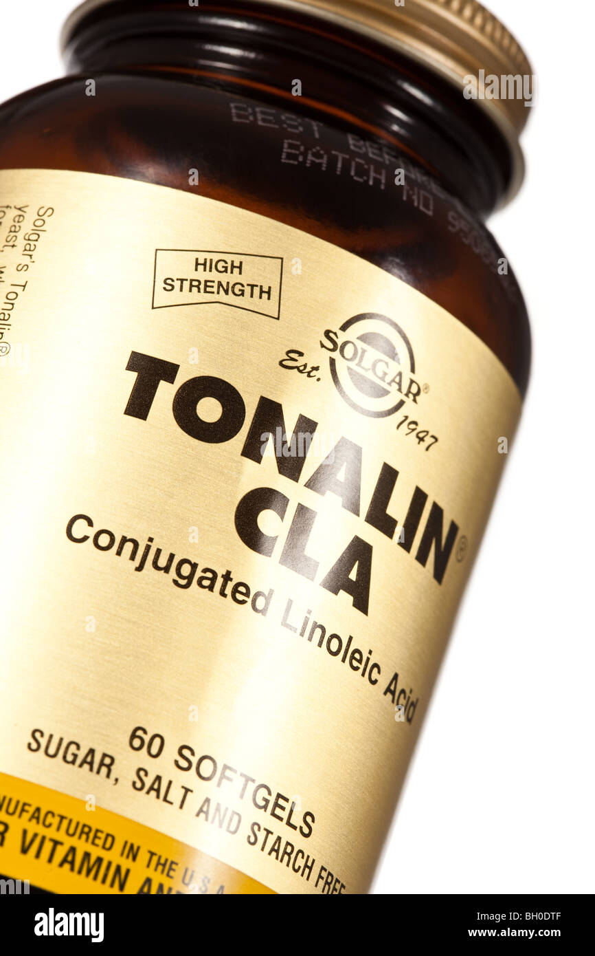 Cla Conjugated Linoleic Acid From Tonalin A Diet Supplement For