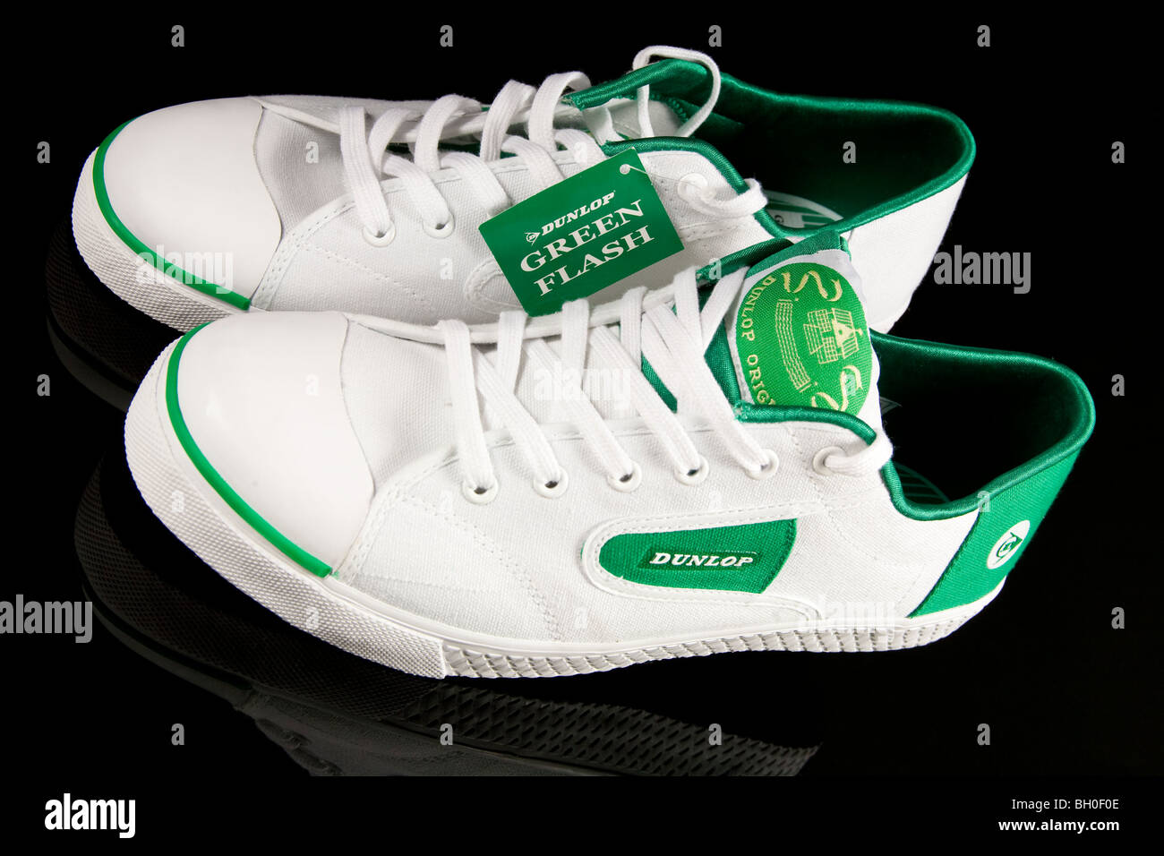 Green Tennis Shoes Stock Photos Green Tennis Shoes Stock Images