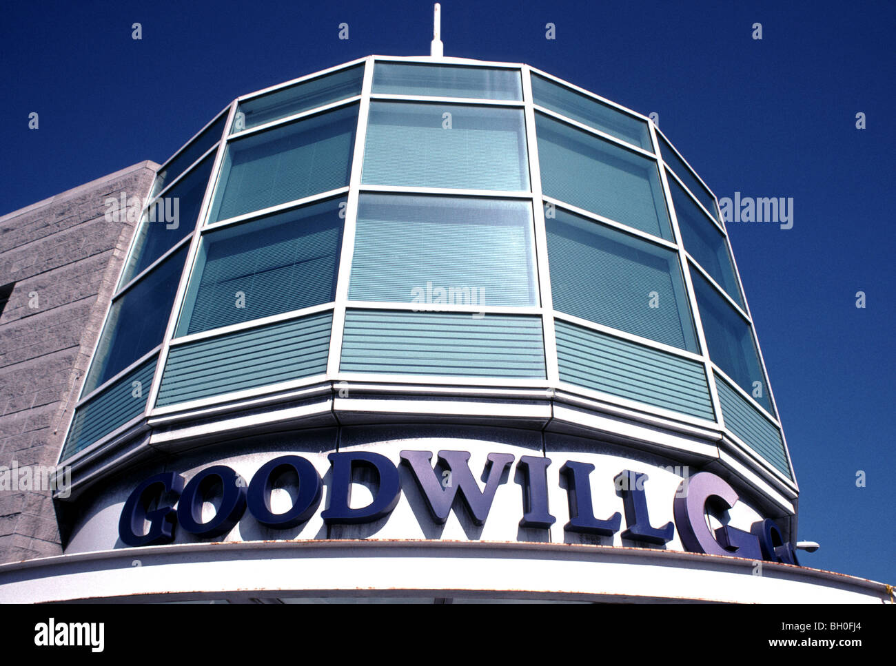 Goodwill Industries store, San Francisco, California, USA - Stock Image